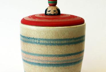 【ウェブショップ】陶とこけしの蓋もの